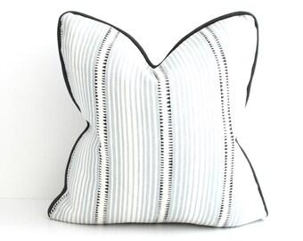 Schumacher Moncorvo in Le Mirage, Decorative Pillow, Throw Pillow, Pillow Cover, 16x16, 18x18, 20x20, 24x24, 26x26, lumbar, EURO