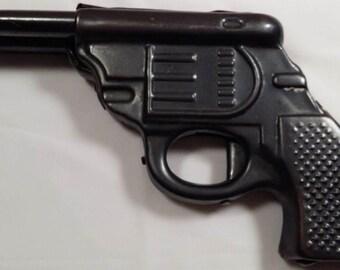 "Vintage child gun ""TT"", Two guns, Metal gun, Retro gun, Military toy, Repair, USSR"