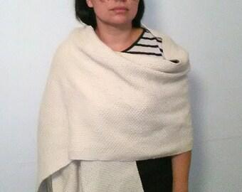Merino wool ruana