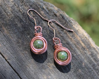 "The ""Tinies"" Collection Dangle Nest Earrings"