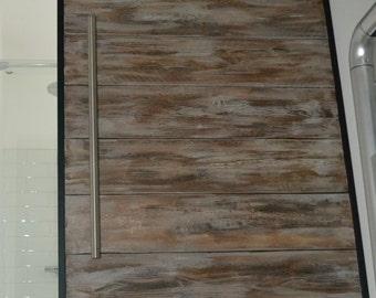 Sliding barn door / industrial sliding barn door / FREE UK SHIPPING
