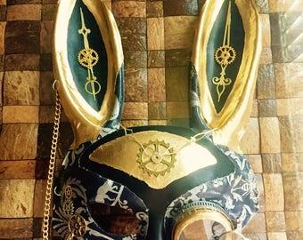 Steampunk Rabbit Mask