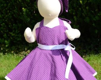 Rockabilly dress children baby GR 68/74