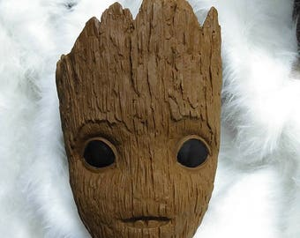 Baby Groot Mask Helmet for Guardians of the Galaxy 2 Cosplay