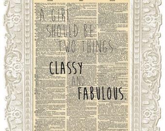 Vintage Coco Chanel art quote. Coco Chanel print. Coco Chanel no 5 poster. Vintage Print.
