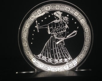 Night Light of Artemis, the Greek goddess of Nature