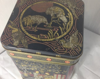 Vintage Chinese Tea Tin