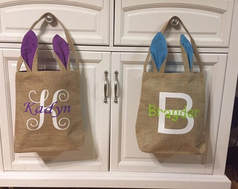 PERSONALIZED EASTER BASKETS