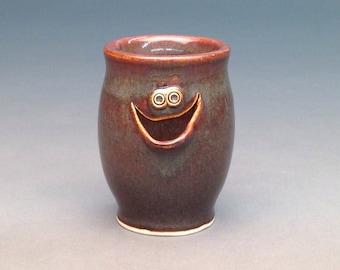 Iron Brown, Egg Separator, Ceramic Egg Separator, Pottery Egg Separator, Egg Separator, Handmade Egg Separator
