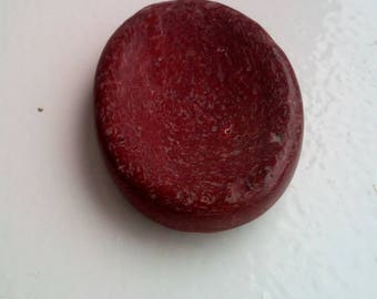 Red Jasper Thumb Stone Worry Stone Cabachon Meditation Crystal Healing Reiki Pagan Wicca