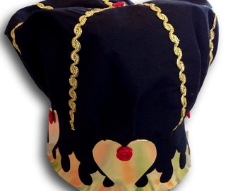 Royal Queen of Hearts Chef Hat