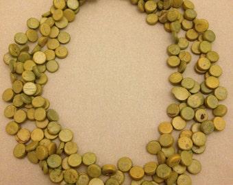 Vintage Green Pod Necklace