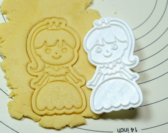 Princess Julie Cookie Cutter and Stamp