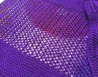 Lace Panel Long Wrap