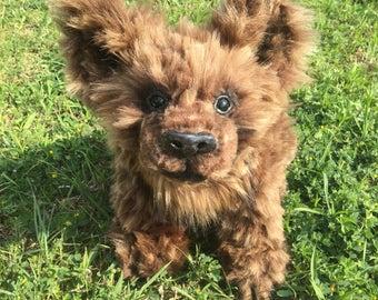 Posable Art Doll Dog