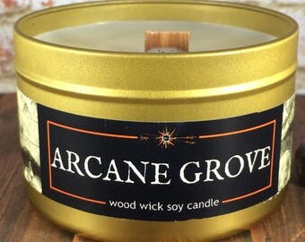 """ARCANE GROVE Candle 