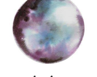 La Luna Moon PRINT