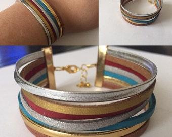Bracelet leather laces
