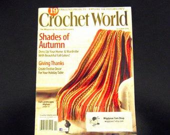 Crochet World Magazine 2015 Crochet patterns  - October 2015 vol 38 No 5