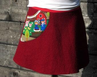 Walking skirt for girls