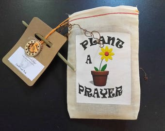 4X6 HERB & VEGETABLE Pouch - Plant A Prayer