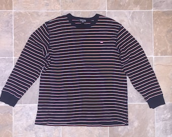 Vintage Ralph Lauren Polo Jeans Company Striped Thermal Size XL