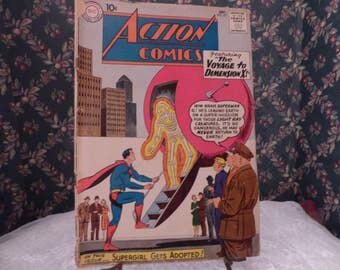 1960 Dc Action comic book