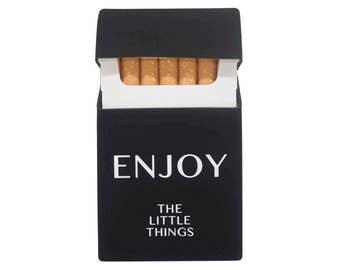 Cigarette Case Étui à cigarettes Caja de cigarrillos Zigarettenetui Pitillera Portasigarette Silico Treat Your Joy