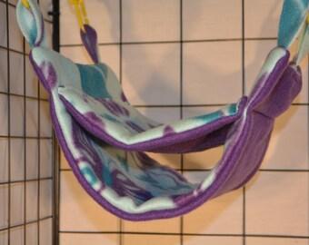 Bunk Bed ~ Rat/Sugar Gliders Double Decker Hammock- Ready to Ship!
