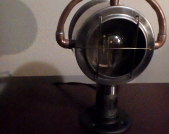 Steampunk Lamp Nautical Mets Green Lantern