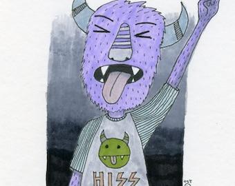 Metal Monster art print