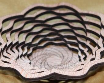 "Sculpted Serenity Basket - ""Petite Carnation"""