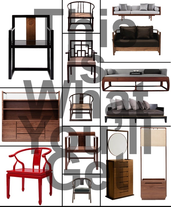 Zen style furniture clip art photo for your mood board for Zen style furniture