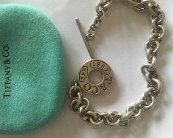 Authentic chunky Tiffany bracelet
