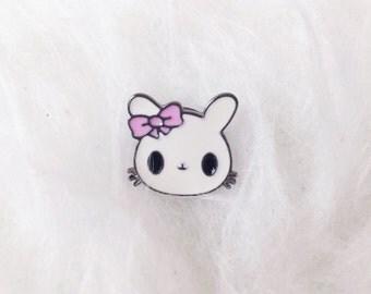 Cute Bunny Enamel Pin