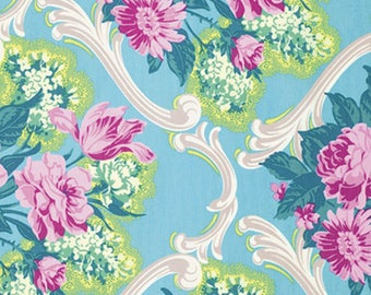 Caravelle Arcade Jessica Blue by Jennifer Paganelli/ Free Spirit Fabrics - Sold by the Yard