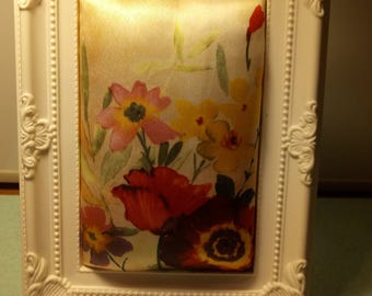 sewing pin picture frame
