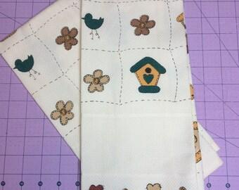 Birdhouses Charles Craft Cross-stitch towel