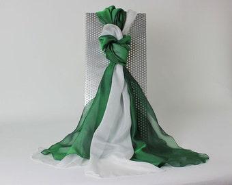 Silk scarf silk shawl