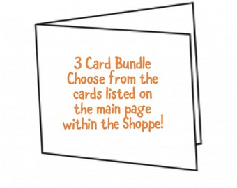3 Card Bundle Package