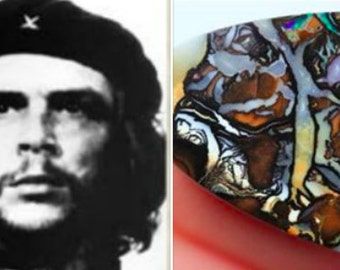 Revolutionary Che Guevara Opal