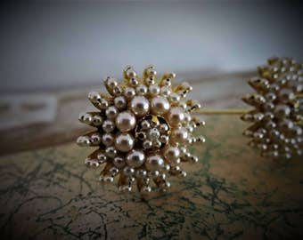 Chignon Jewelry Decoration Gold and Pearls