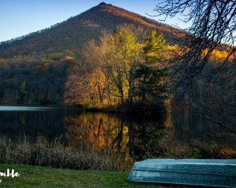Peaks of Otter - Abbott Lake - Blue Ridge Parkway - Bedford, Virginia