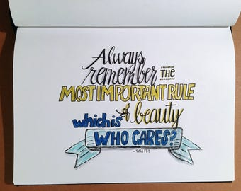 Beauty, who cares
