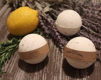 Rosemary Lemon Lavender Bath Bomb, Bath Bomb, Bath Fizzie