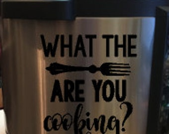 What the Fork Instant Pot Decal