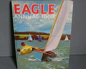 Eagle Annual 1968 Vintage Boys  Annual