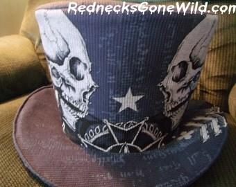 Skulls & Stars Hat