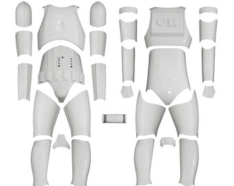 Star Wars Stormtrooper Costume Armour - Original Replica - A New Hope - Kit Version 1 WITHOUT HELMET