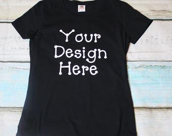 Your Design Here Shirt Custom Design Tshirt Create Your Own Tee Shirt Make Your My Shirt